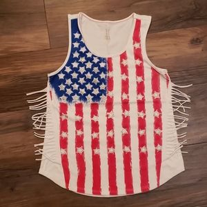Other - Girls Flag Tank Top